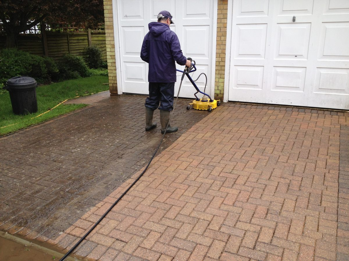 Driveway Cleaning Cambridge